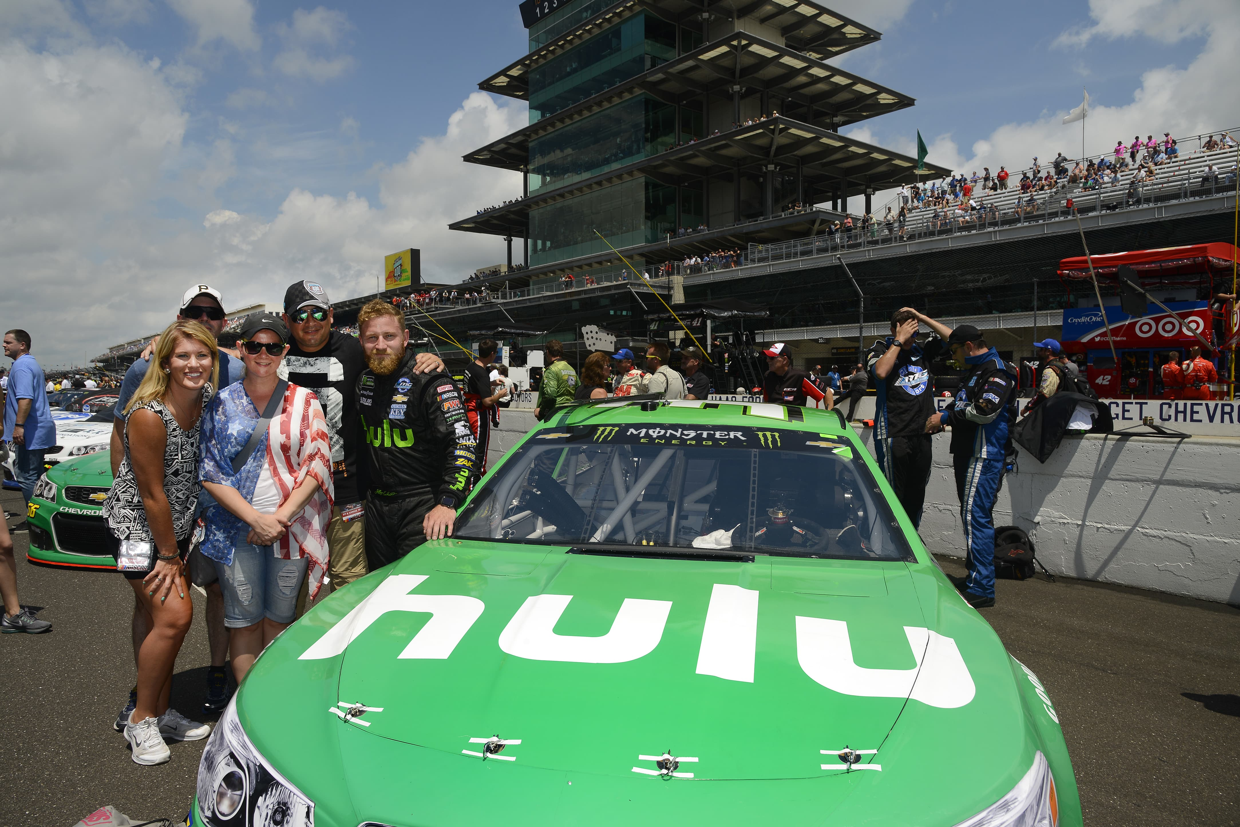 Sunday at the Brickyard 4002017 Monster Energy NASCAR Cup Series
