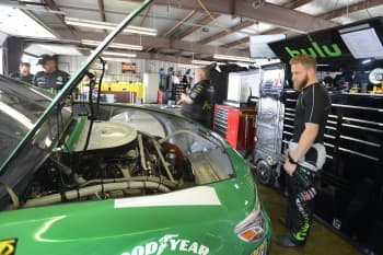 Friday at MIS2017 Monster Energy NASCAR Cup Series