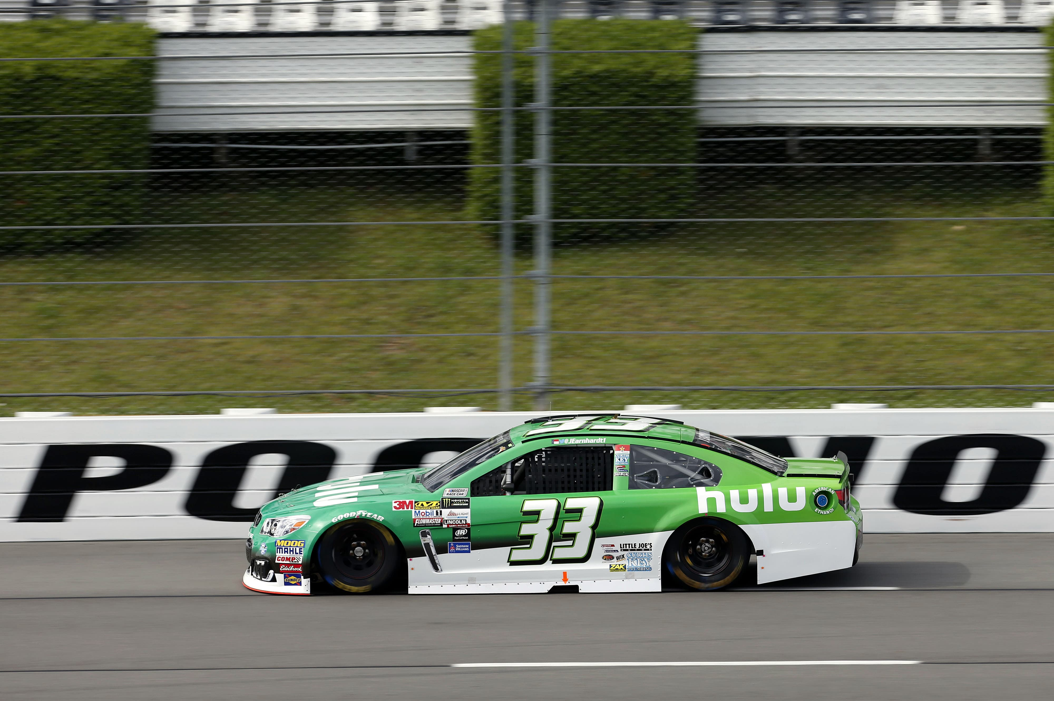 Monster Energy NASCAR Cup Series Overton's 400 Pocono Raceway, Long Pond, PA USA Saturday 29 July 2017 Jeffrey Earnhardt, Circle Sport / TMG, hulu Chevrolet SS World Copyright: Matthew T. Thacker NKP