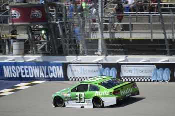 Saturday at Michigan International Speedway, Practice and Truck Race2017 Monster Energy NASCAR Cup Series