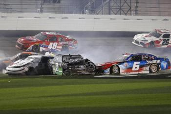 NASCAR: February 13 Beef. It's What's For Dinner. 300