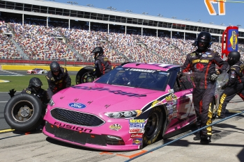 NASCAR: Oct 09 Bank of America 500